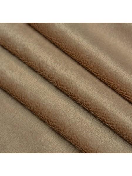 Велюр(плюш),50*50см,св-коричневый