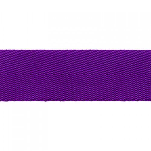 Стропа-ременная лента, 25 мм,цв-фиолетовый,плетение ёлочка.цена за 1 м