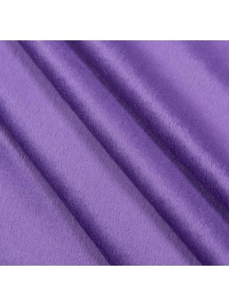 Велюр(плюш),50*50см,цв-фиолетовый