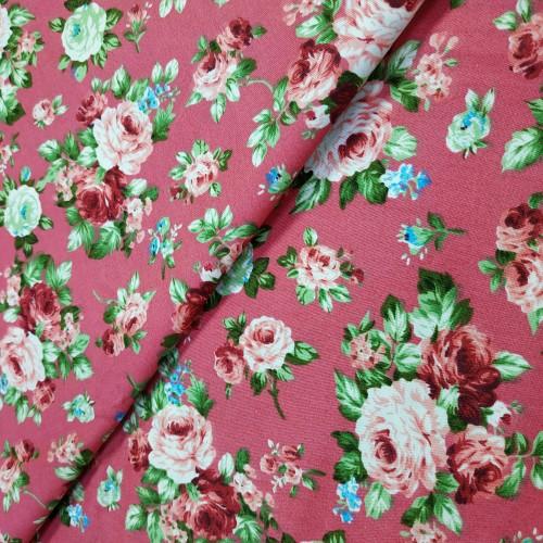 Отрез(сатин),размер 50*50см. винтаж розовый,цена за отрез