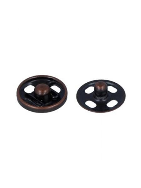 Кнопки пришивные металл-медь,10мм,в уп. 10 кнопок
