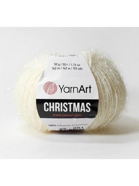 YarnArt Christmas Кристмас, 06. цв-молочный