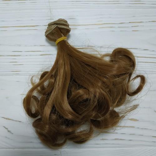 Трессы-кудри (волосы для кукол),15 см