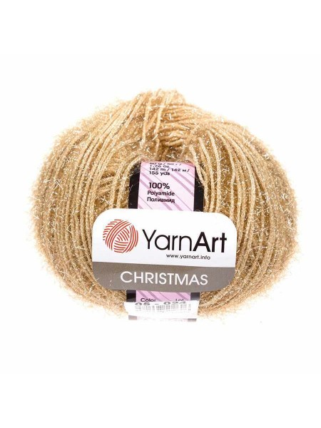 YarnArt Christmas Кристмас, 05-027. цв-бежевый