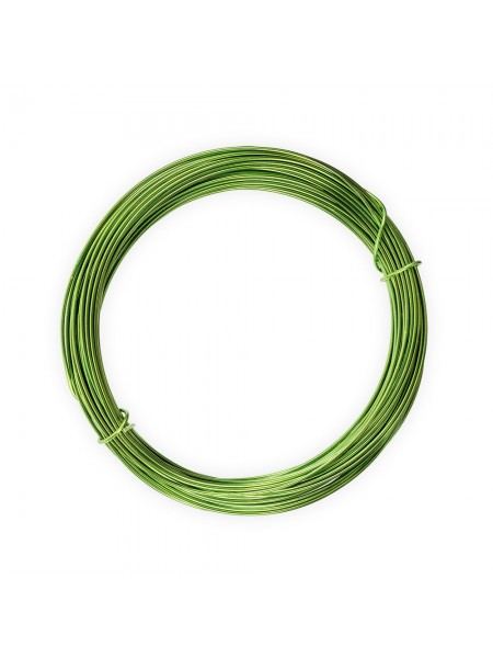 Проволока для плетения AW-1-08-цв-светло-зелёный