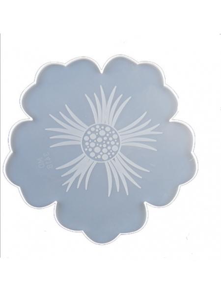 Молд подстаканник(поднос) цветок большой , ширина 35 см