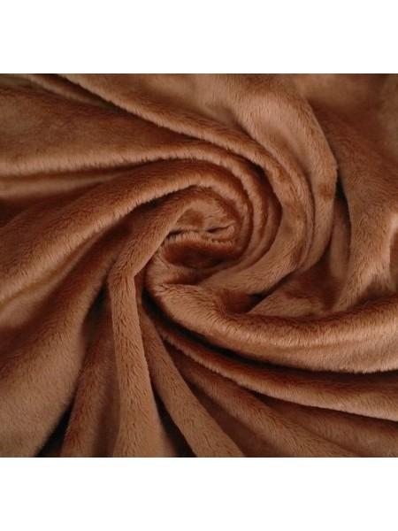 Велюр(плюш),50*50см,,коричневый