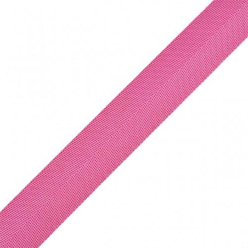 Стропа-ременная лента, 27 мм,цв-розовый,плетение ёлочка.цена за 1 м