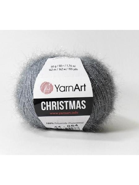 YarnArt Christmas Кристмас, 44-058. цв-серый