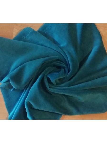 Велюр(плюш),цв-морская волна,50*50 см
