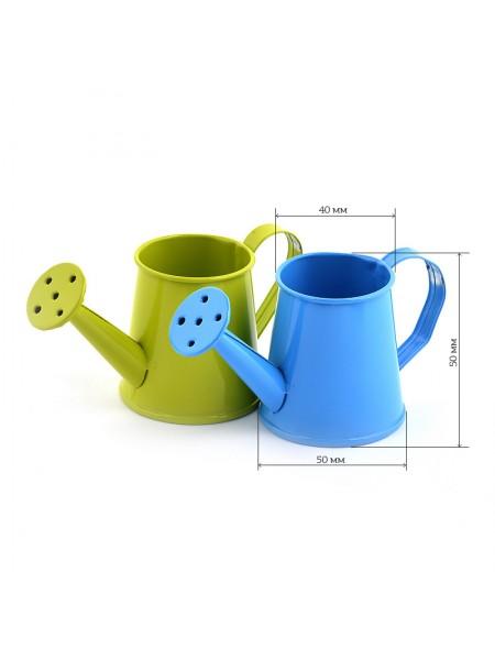Лейка декоративная,цвет голубой, 5 см, цена за 1 шт