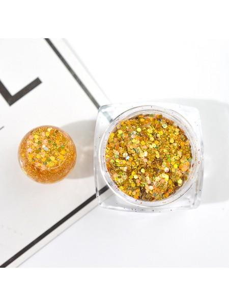 Декоративный наполнитель для смолы,цв-золото