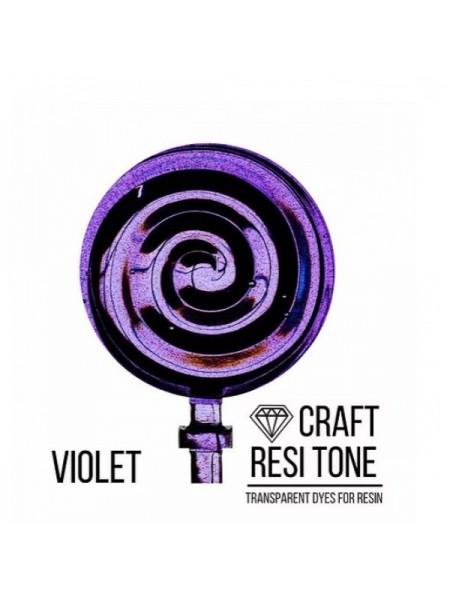 Прозрачный краситель для эпоксидной смолы-Фиолетовый,10мл
