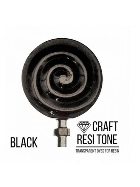 Прозрачный краситель для эпоксидной смолы-Черный,10мл