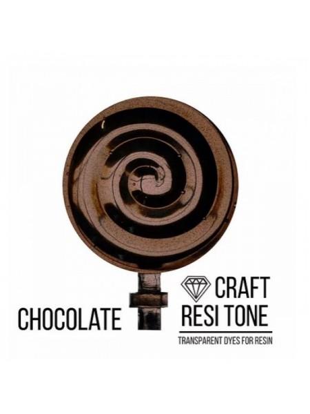 Прозрачный краситель для эпоксидной смолы-Шоколадный,10мл