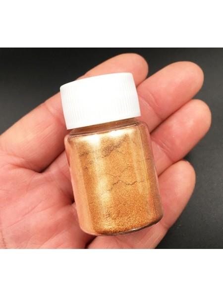 Пигмент для эпоксидной смолы,цв-бронза,20мл
