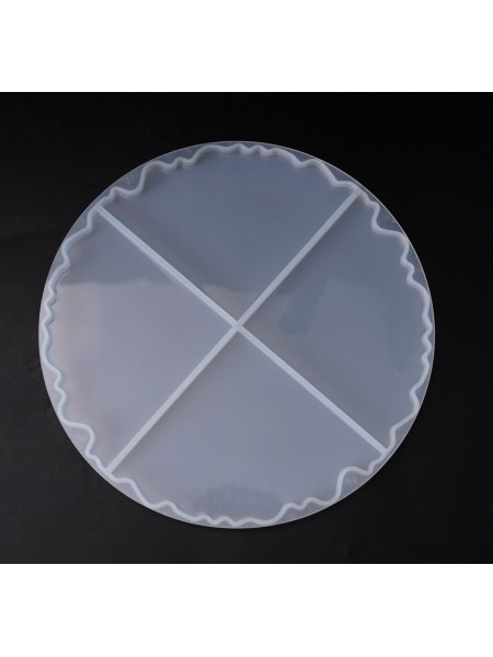 Силиконовый молд -четвертинки,диаметр 21см