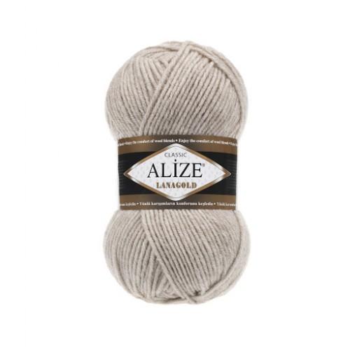 Пряжа Alize-Ланаголд (Lanagold) цв-152-беж меланж