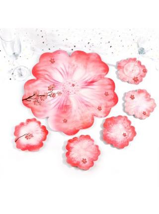 Молд подстаканник-цветок ,12*12см