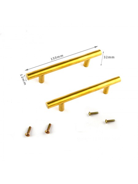 Ручки для подноса 15см, цв-золото матовое