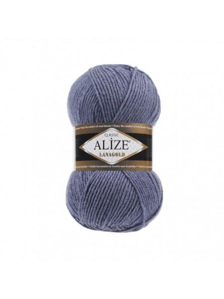 Пряжа Alize-Ланаголд (Lanagold) цв-203-джинс меланж