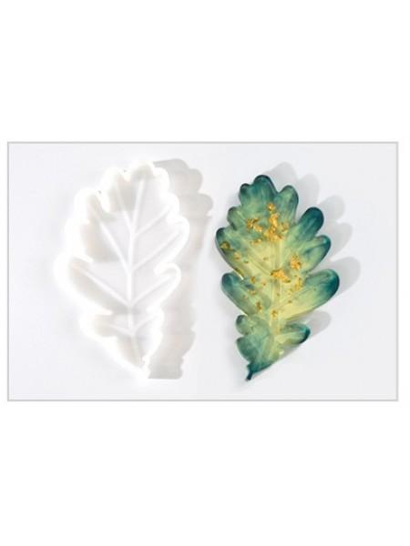 Молд подстаканник-лист дуба,8*13,4 см
