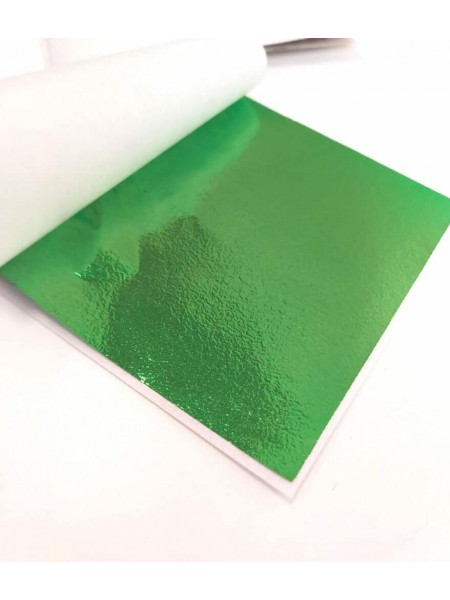Поталь ,9*9см.цв-зелёный,  Цена за 5 шт