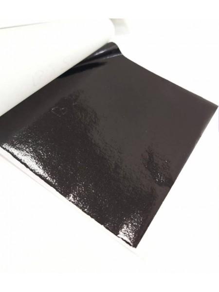 Поталь ,9*9см.цв-черный,  Цена за 5 шт