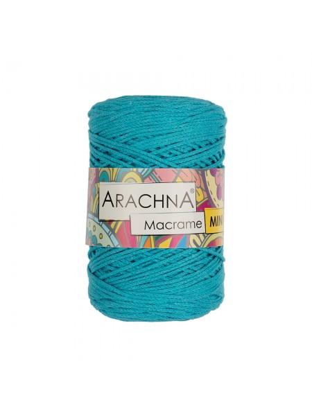 """Шнур для вязания и макраме """"Macrame Mini""""цв-бирюза голубая, 3мм- 230 м"""