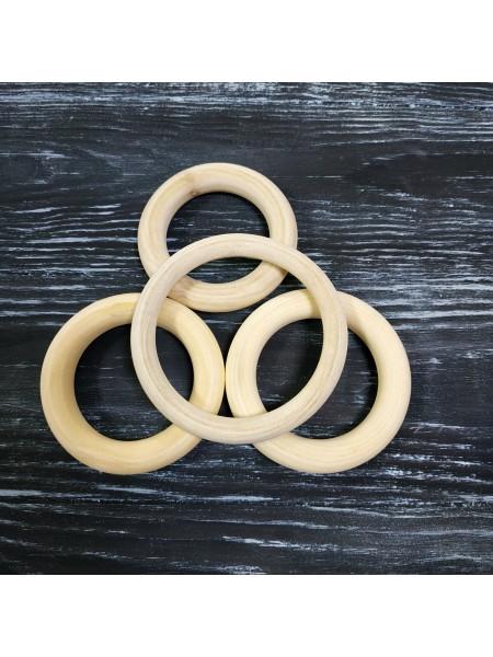 Кольца деревянные, 55*10мм. цена за 2 шт