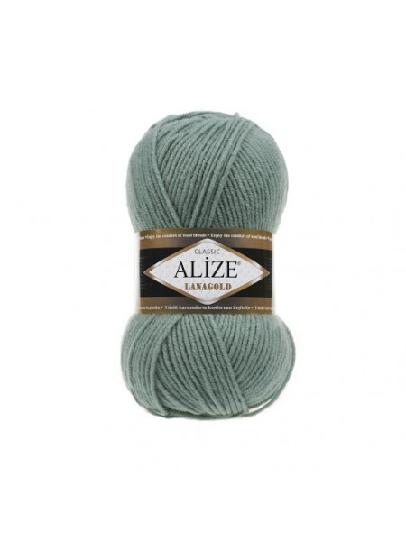 Пряжа Alize-Ланаголд (Lanagold) цв-386-лазурный