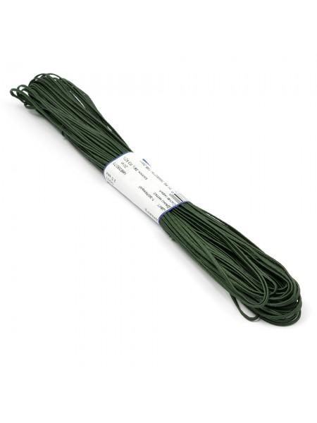 Шнур-Сутаж,тёмно-зелёный,2.5мм Цена за 1 м
