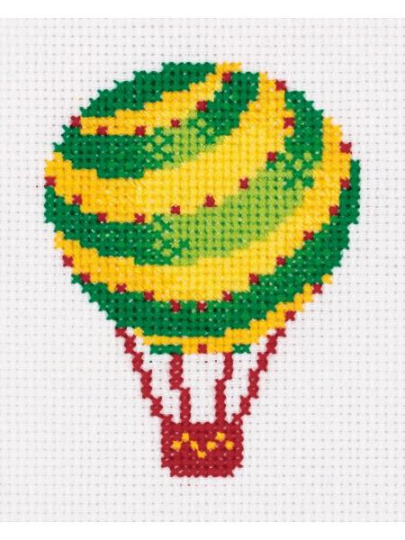 Набор для вышивания Klart 'Воздушный шар', 9,5*11,5 см