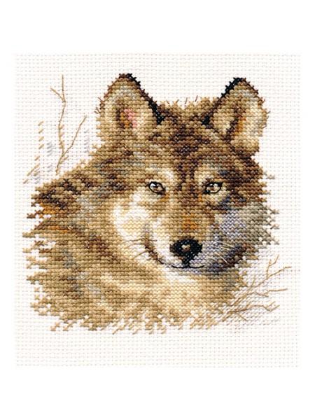 Набор для вышивания АЛИСА 'Волк' 12*12см