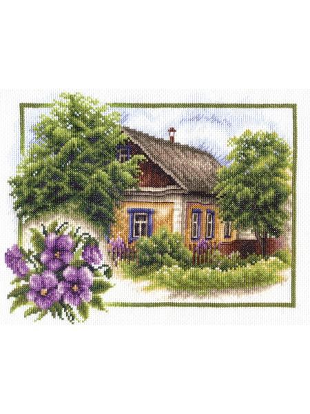 Набор для вышивки крестом Panna ПС-0322 Лето в деревне
