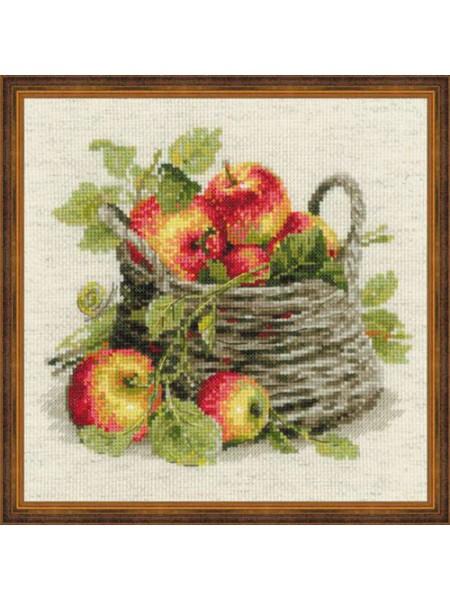 Набор для вышивания Riolis 'Спелые яблоки', 30*30 см