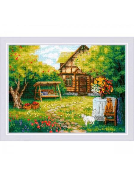 Набор для вышивания Riolis 'Загородный домик'40*30см