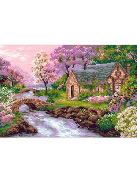 Набор для вышивания Riolis 'Весенний пейзаж', 38*26 см