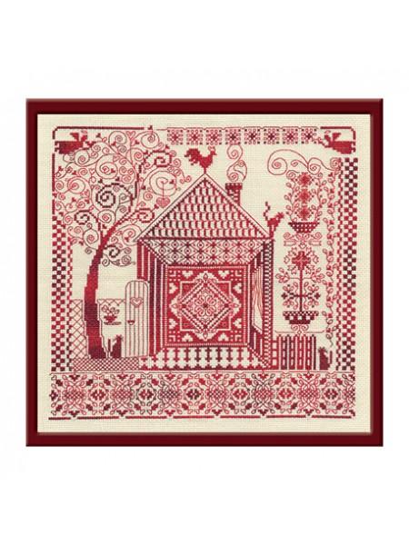 Набор для вышивки крестом Panna СО-0886 Оберег домашнего очага