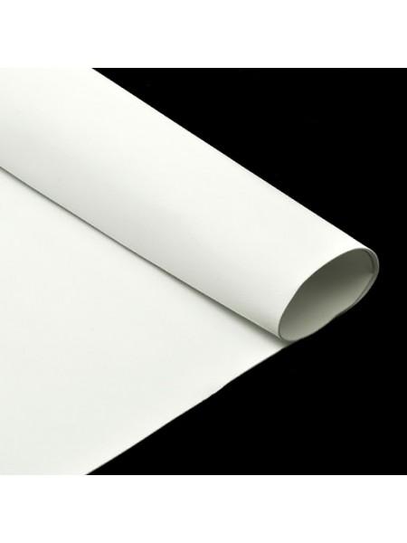 Фоамиран белый, Китай,50*50 см
