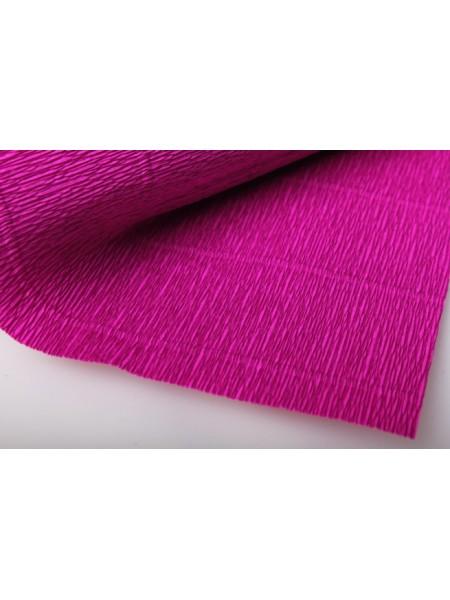 Бумага гофрированная-CARTOTECNICA ROSSI, цв малиновый  №572
