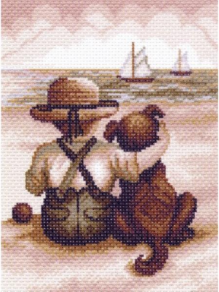 Рисунок на канве -Всегда вместе- МП-1336
