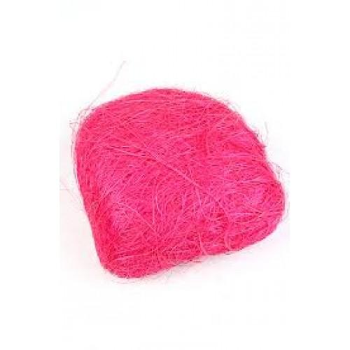 Сизаль,цвет ярко розовый .40гр