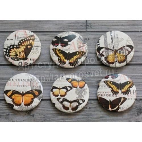 """Фишки №005 """"Бабочки. Винтаж"""", ПроСвет"""