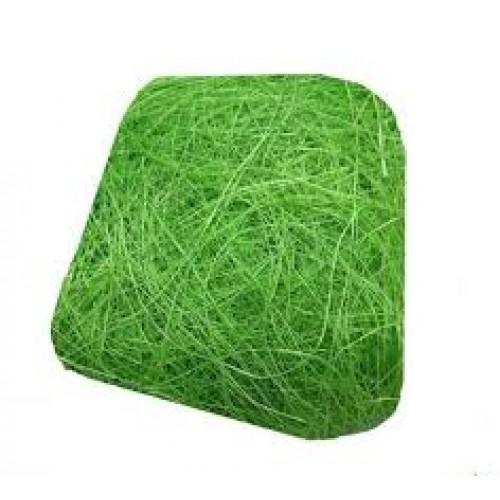 Сизаль,цвет зелёный,40гр