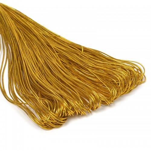 Резинка шляпная,цв.золото,1,5 мм, цена за 1 метр
