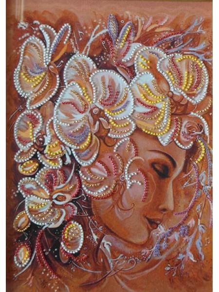 """Набор для вышивки бисером """"Цветочный сон"""" МП-046"""