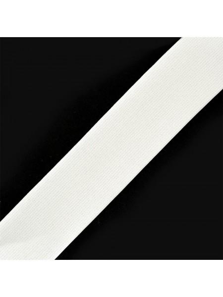 Резинка широкая,белая,40 мм,цена за 1 метр
