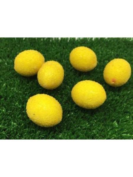 Лимон декоративный в сахаре.мини, цена за 1 шт