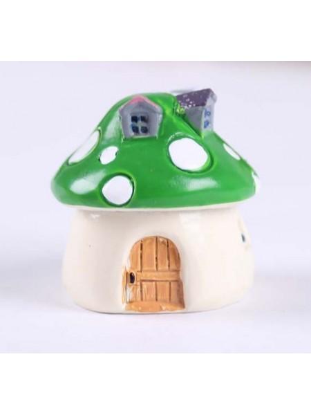 Миниатюра-домик,зелёный
